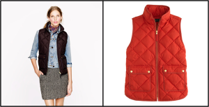 JCrew Excursion Quited Vest $120
