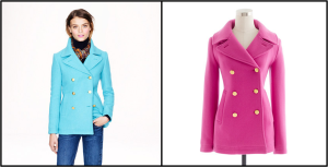 JCrew Majesty Peacoat $298