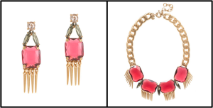 moraccan necklace and earrings