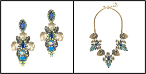 riviera necklace and earrings
